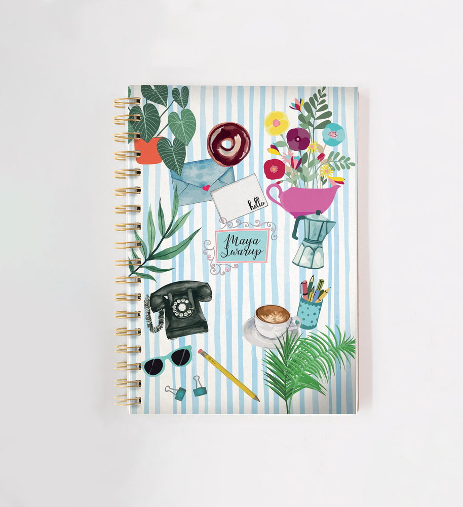 Daily Personalised Doodle Book