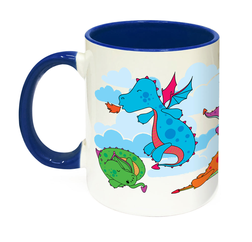 Load image into Gallery viewer, Dragon Personalised Mug