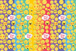 Emoji Customized 100 Wrapping Sheets