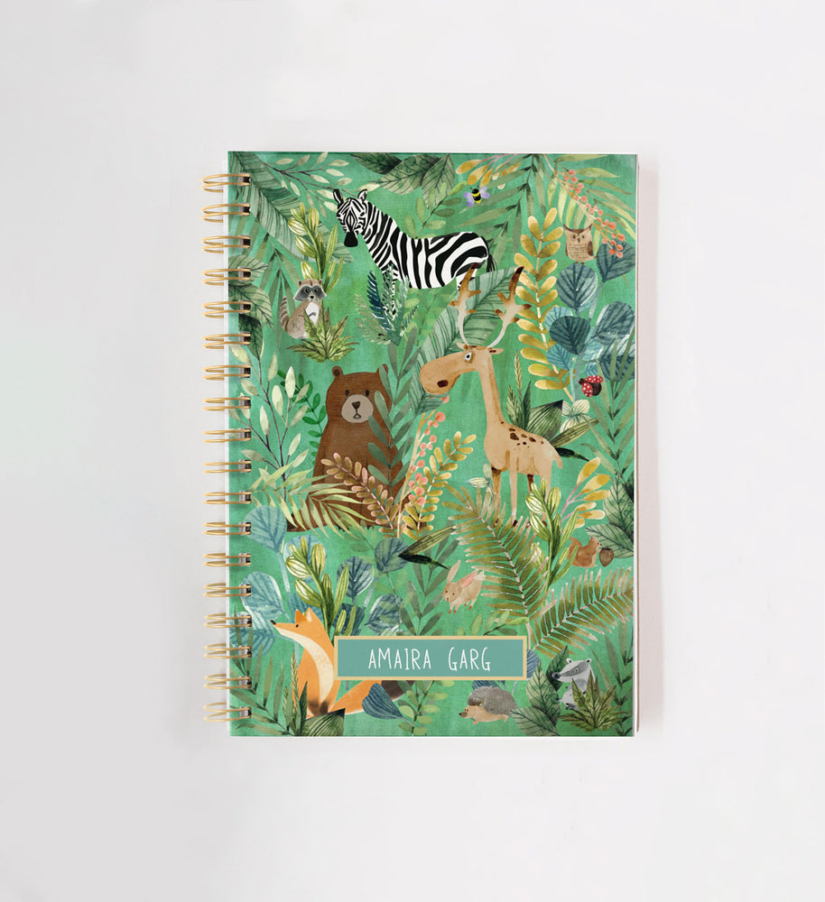 Friendly Forest Personalised Doodle Book