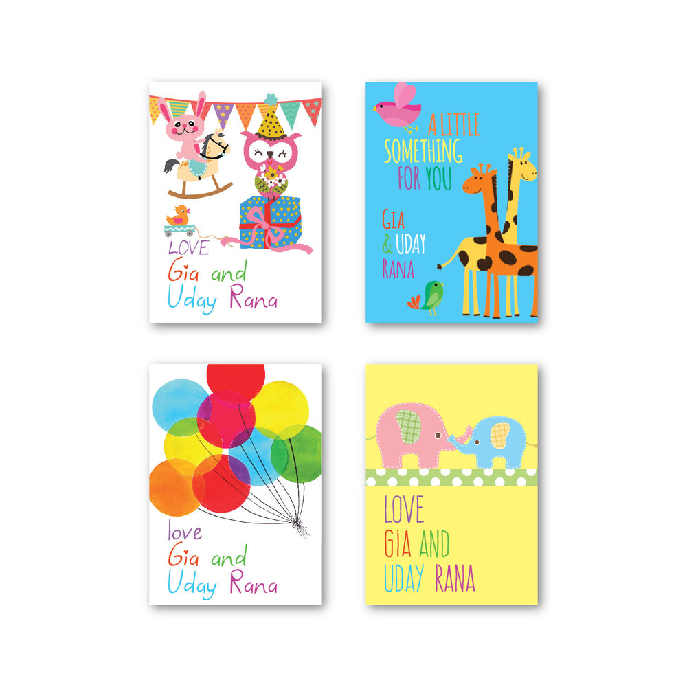 Baby Set of 40 Gift tags