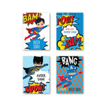 Superhero Set of 40 Gift Tag