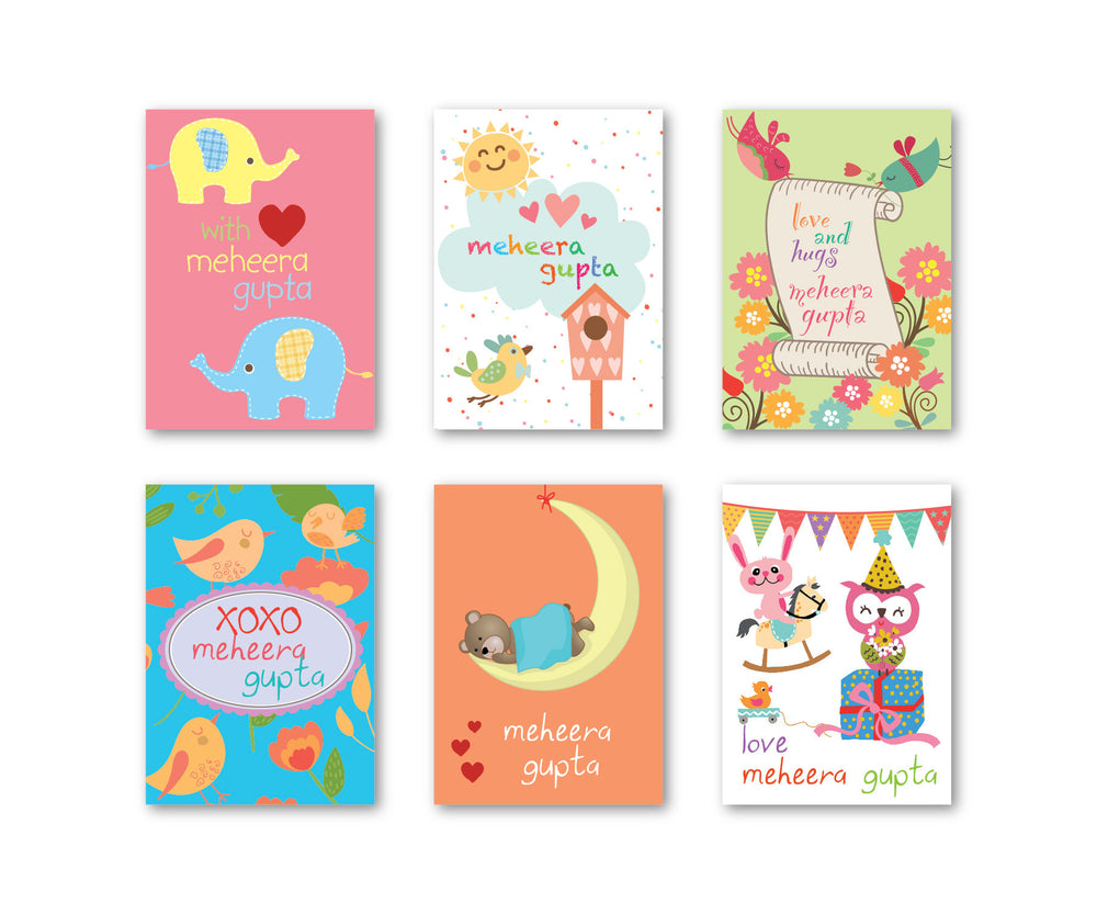 Baby Party Set of 90 Gift tags