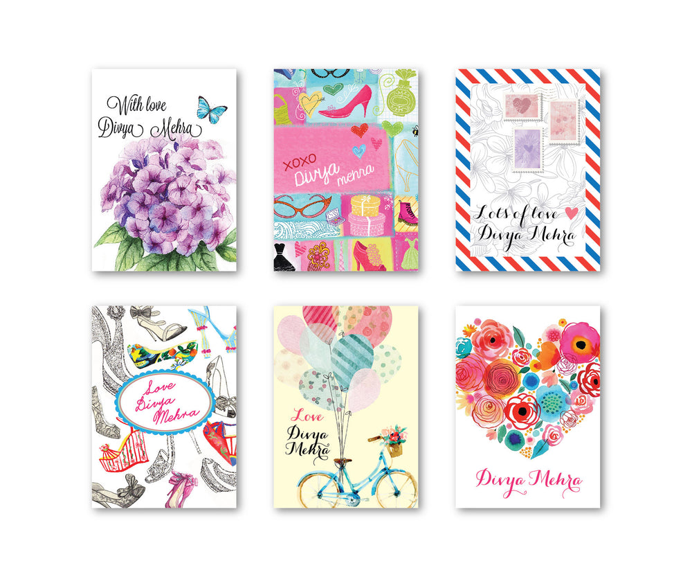Spring Set of 90 Gift tags