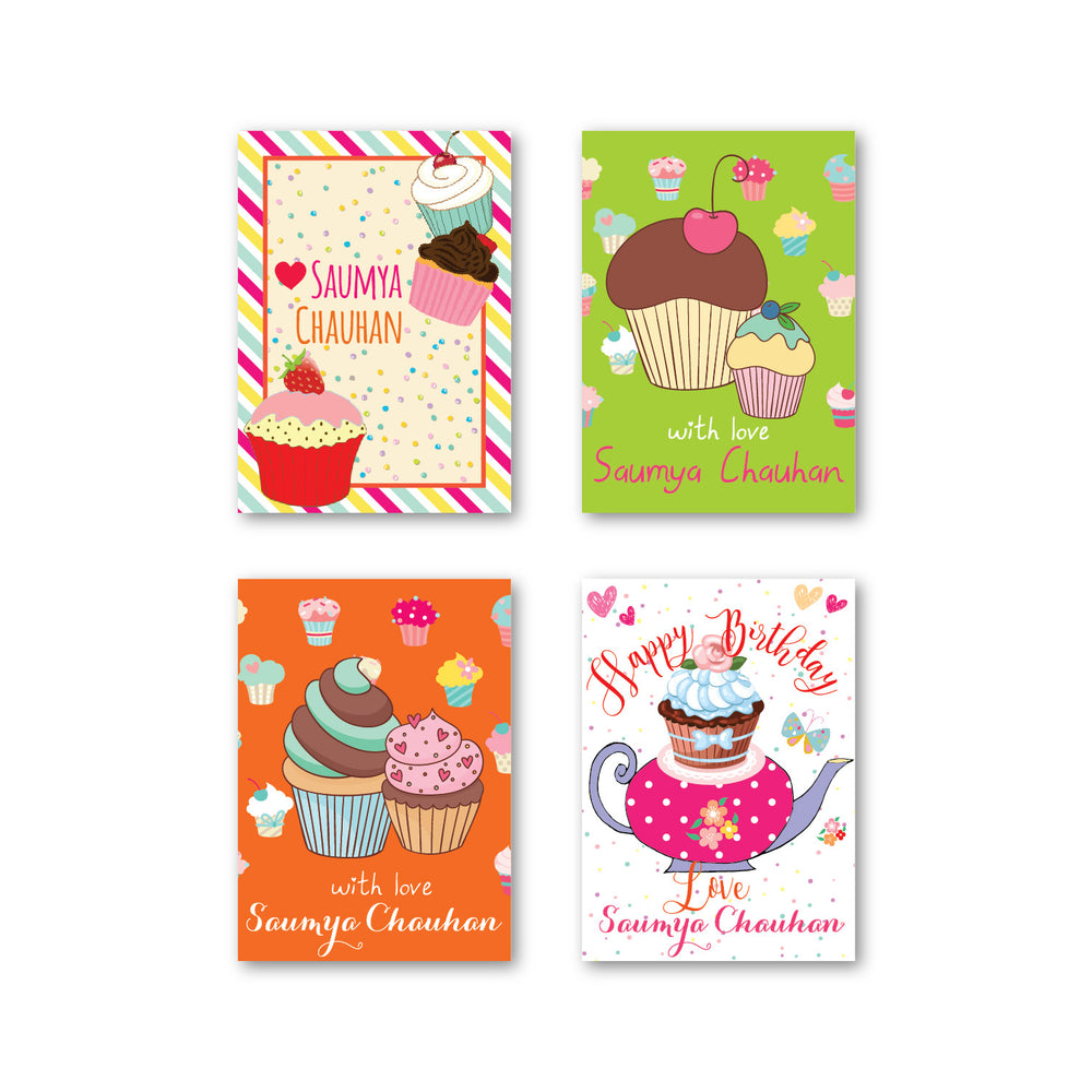 Load image into Gallery viewer, Cupcake Gift Tag