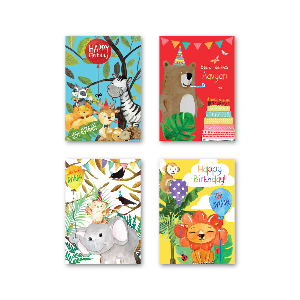 Animal Safari Gift Tags