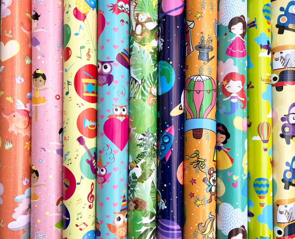 Load image into Gallery viewer, Assorted Wrapping Paper Roll