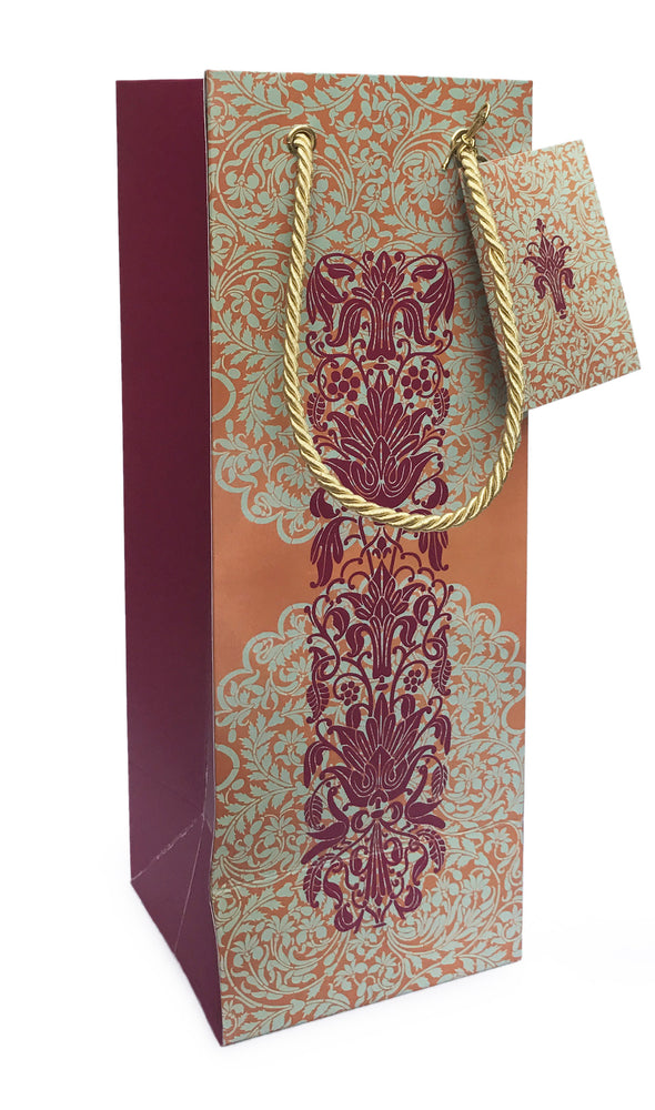 Imperial Motif Wine Bag