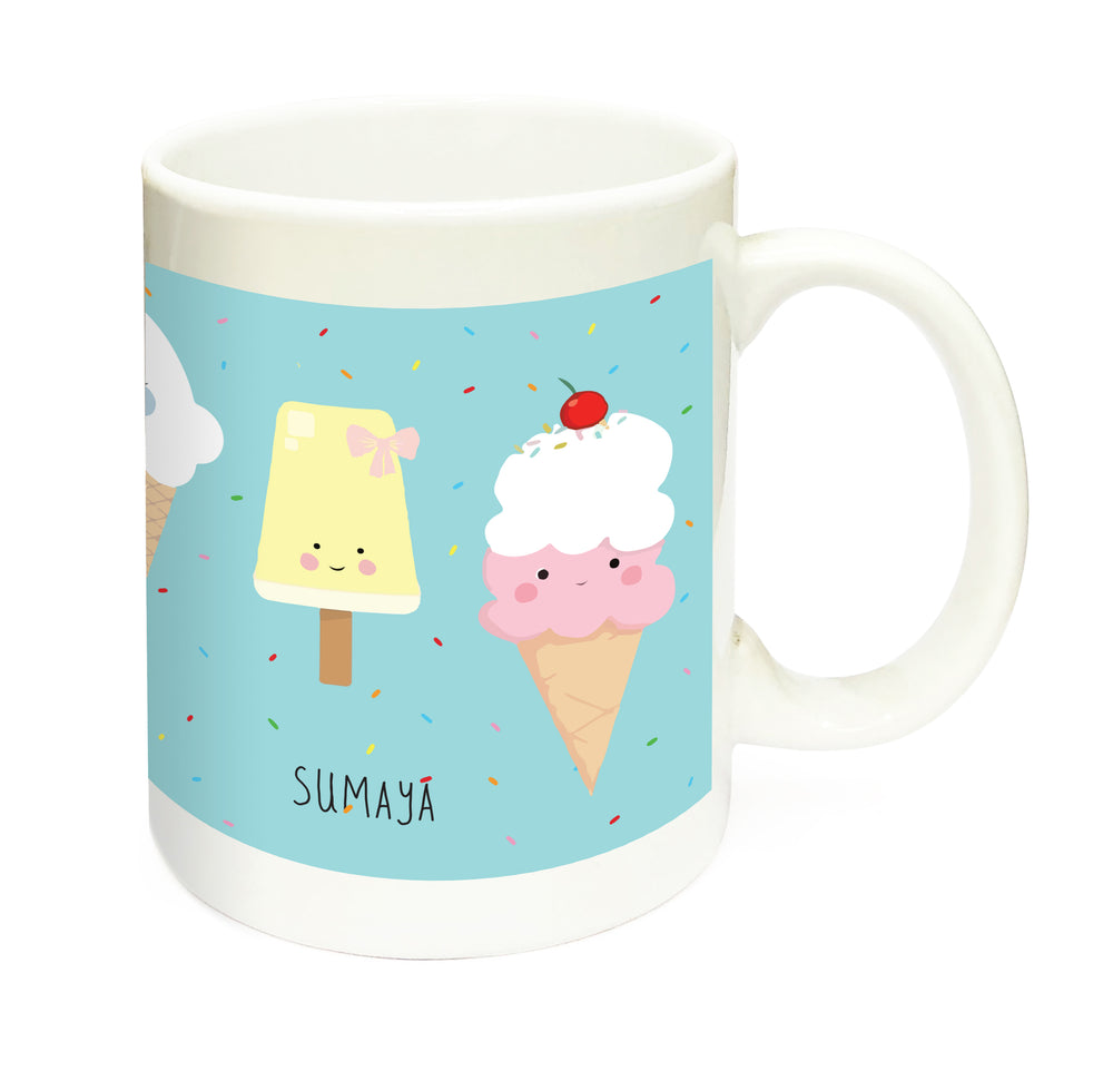 Ice-Cream Personalised Mug