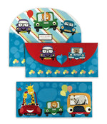Cute Car 10 Gift Envelopes