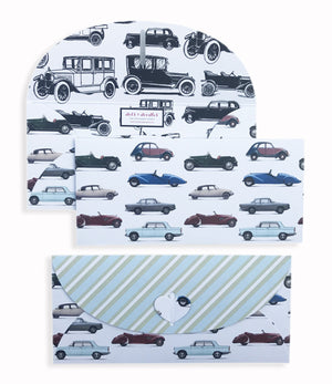 Vintage Car 10 Gift Envelopes