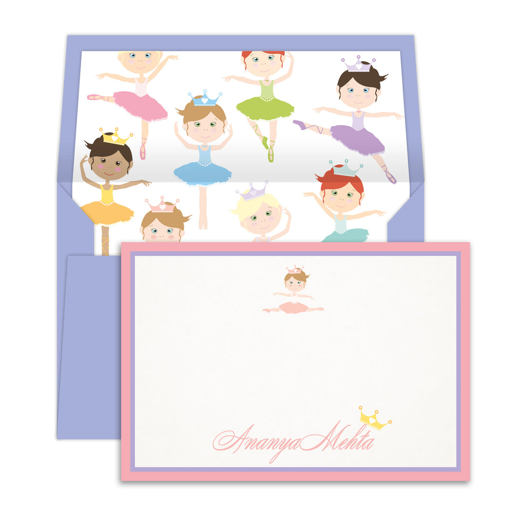 Ballerina Notecards