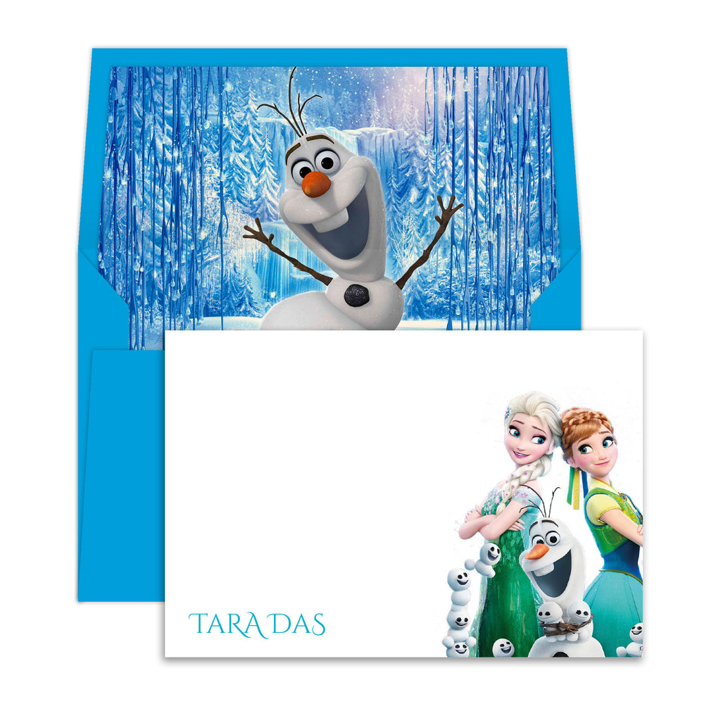 Frozen Olaf Notecards