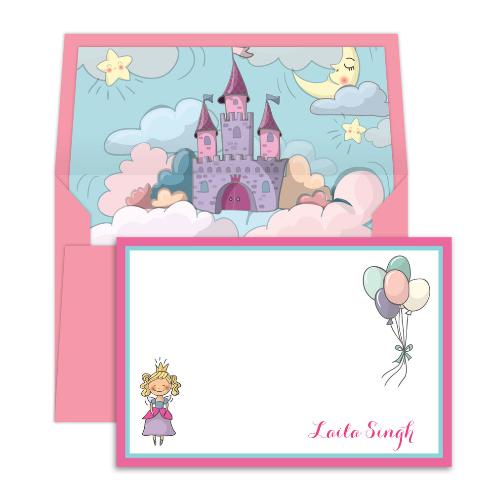 Princess & Castle Notecards