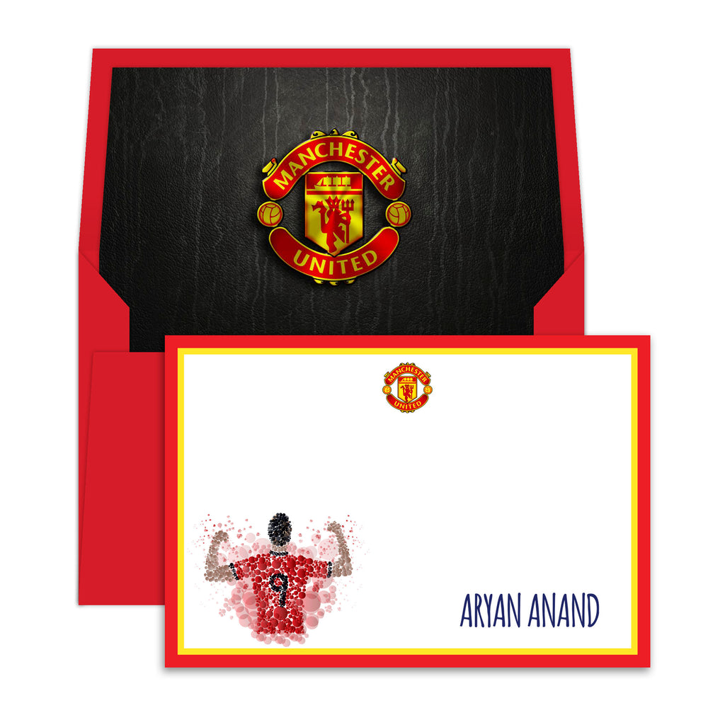 Manchester United Notecards