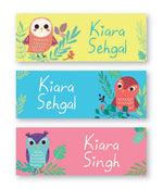 Owls Book Labels