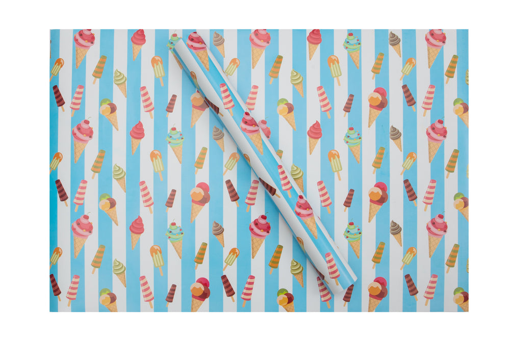 Ice Cream Wrapping Sheets