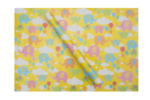 Baby Elephant Wrapping Sheets