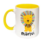Lion Personalised Mug