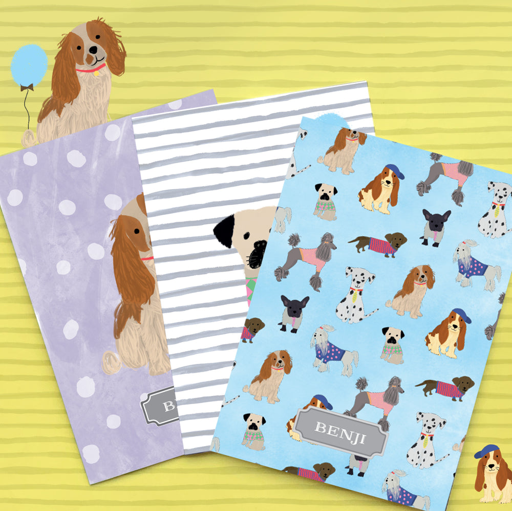 Love The Pooch Personalised Folder