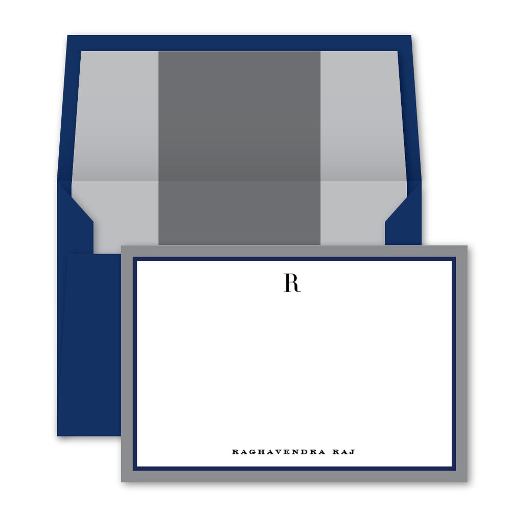 Boston Blue Notecards