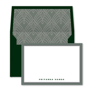 Emerald Notecards