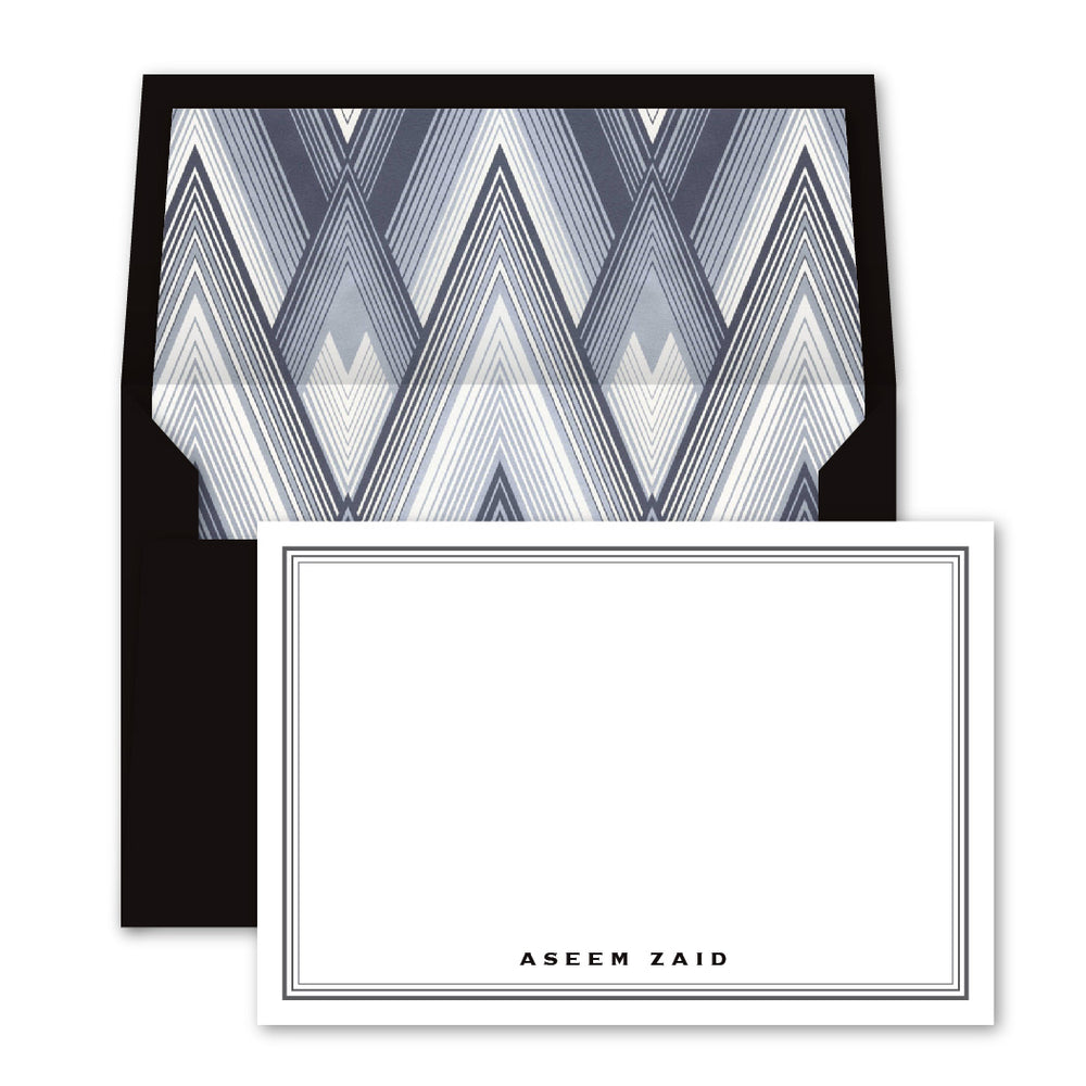 Herringbone Notecards