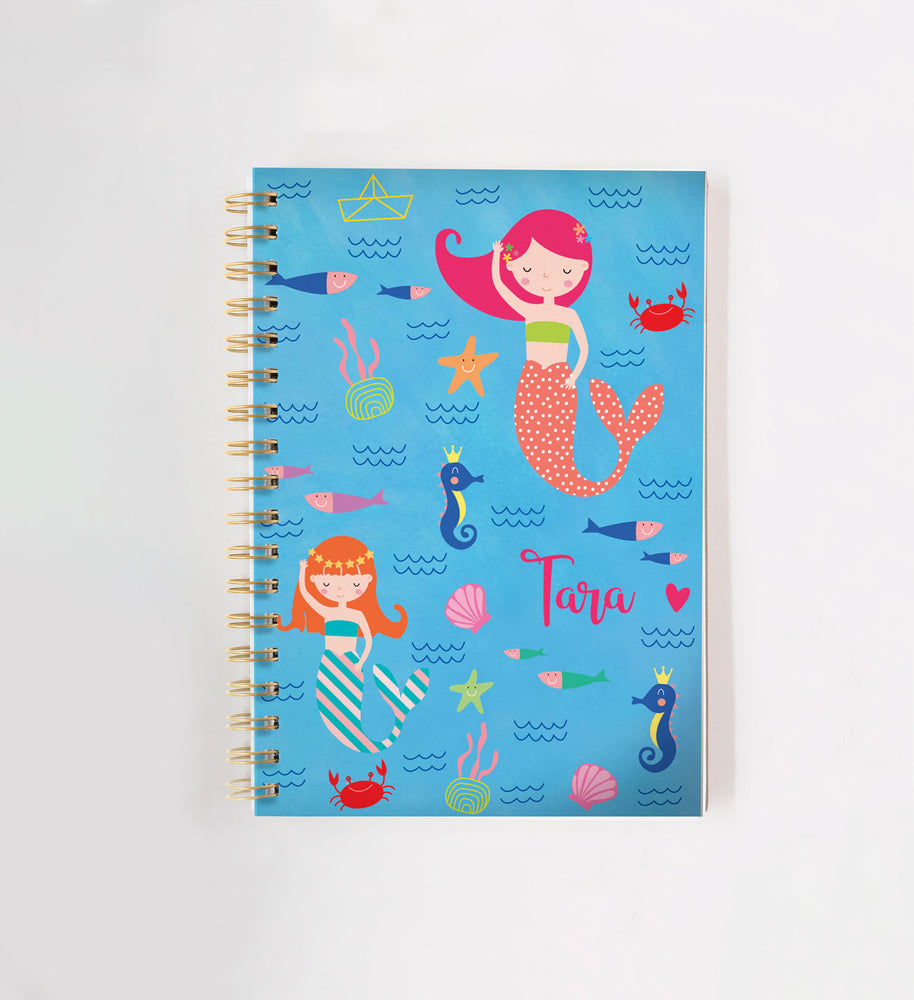 Mermaid Personalised Doodle Book