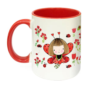 Load image into Gallery viewer, Miss Ladybird Mug