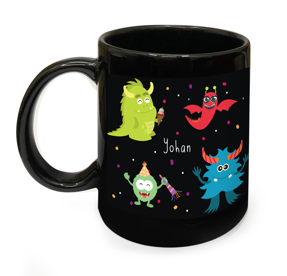 Monster Personalised Mug