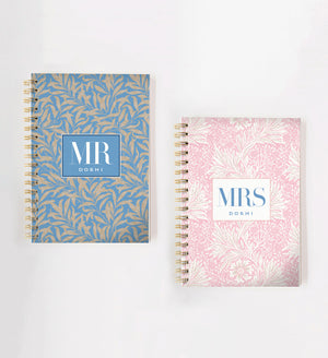 Load image into Gallery viewer, Mr & Mrs Vine Doodle Book