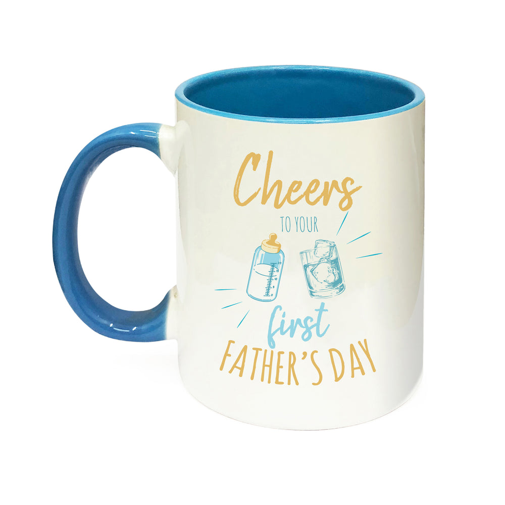 First Father Day Personalised Mug
