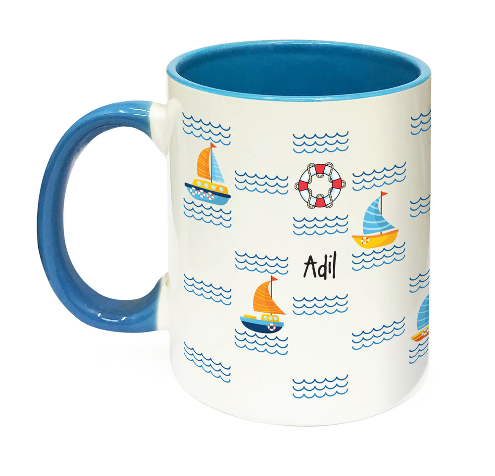 Nautical Personalised Mug