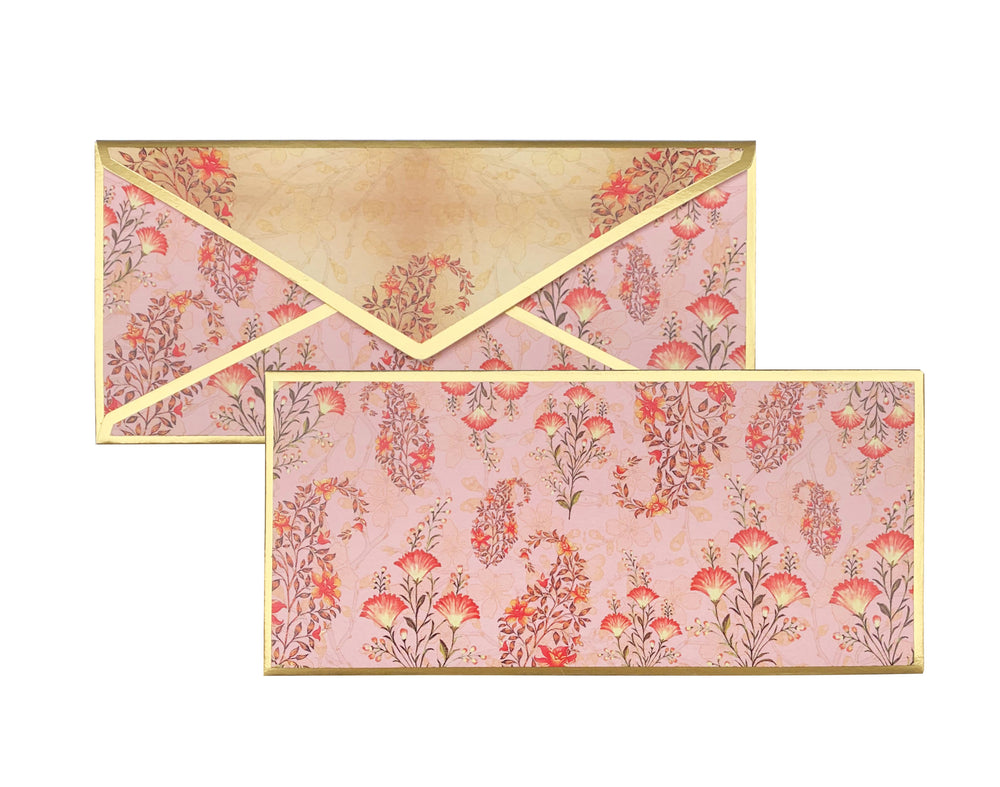 Load image into Gallery viewer, Old Rose Gift Envelope Customised