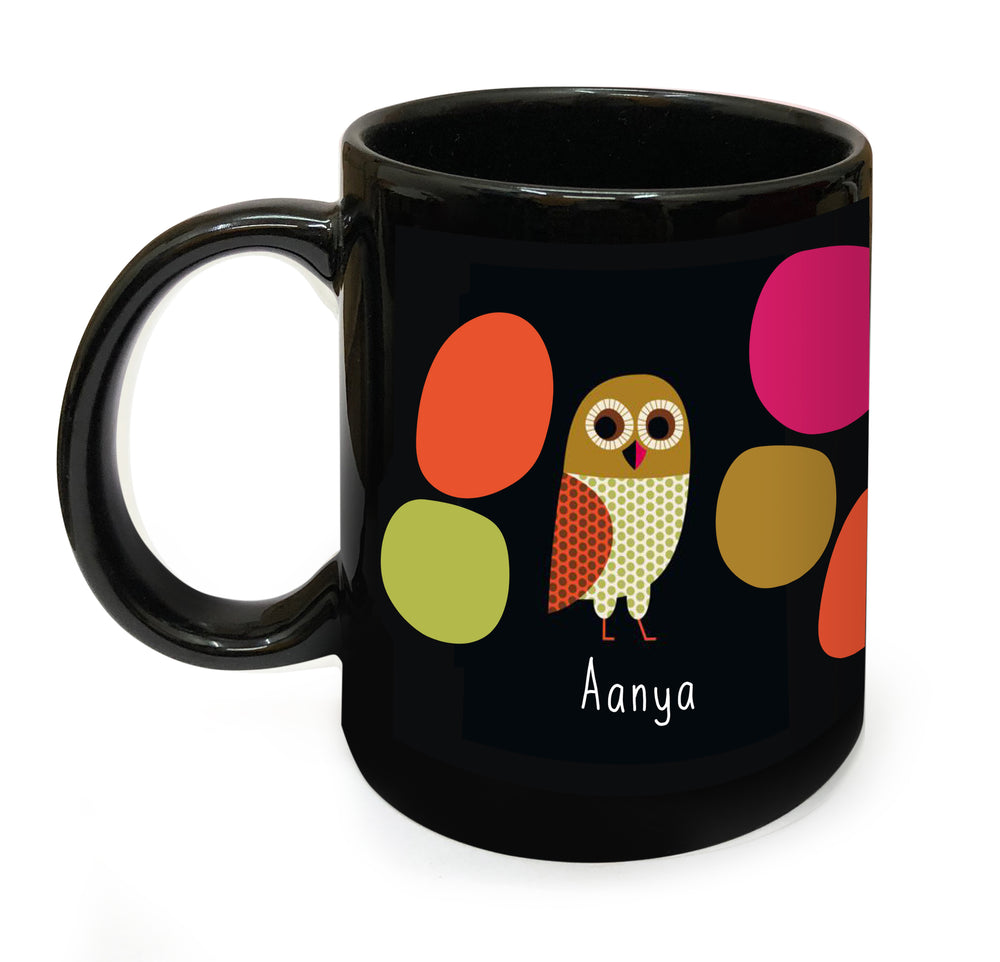 Load image into Gallery viewer, Owl Personalised Mug