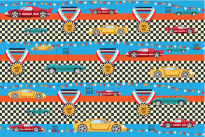 Racecar Customized 100 Wrapping Sheets