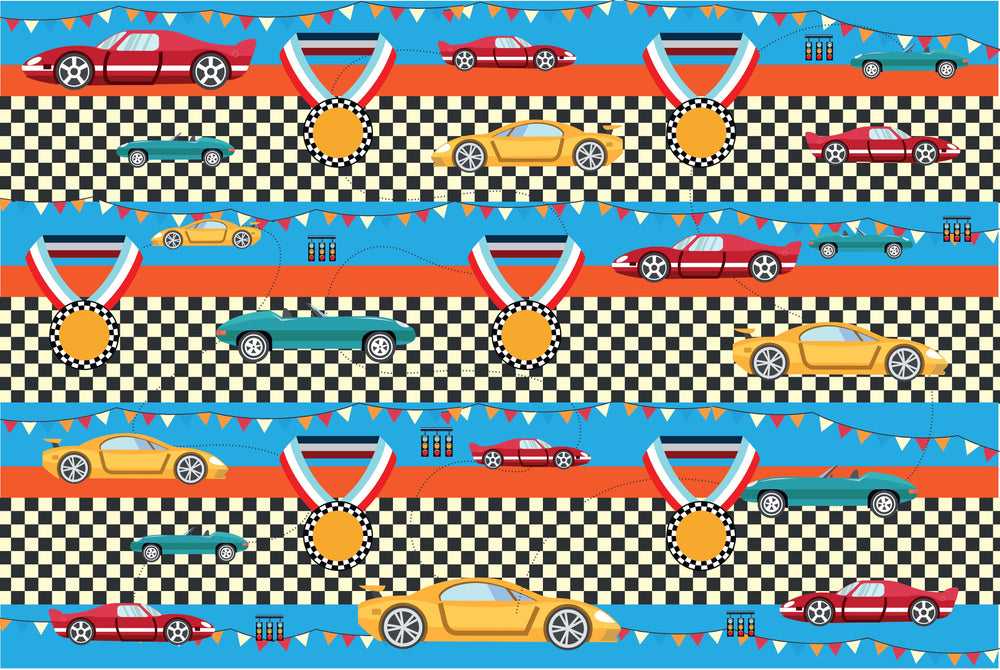 Racecar Wrapping Sheets