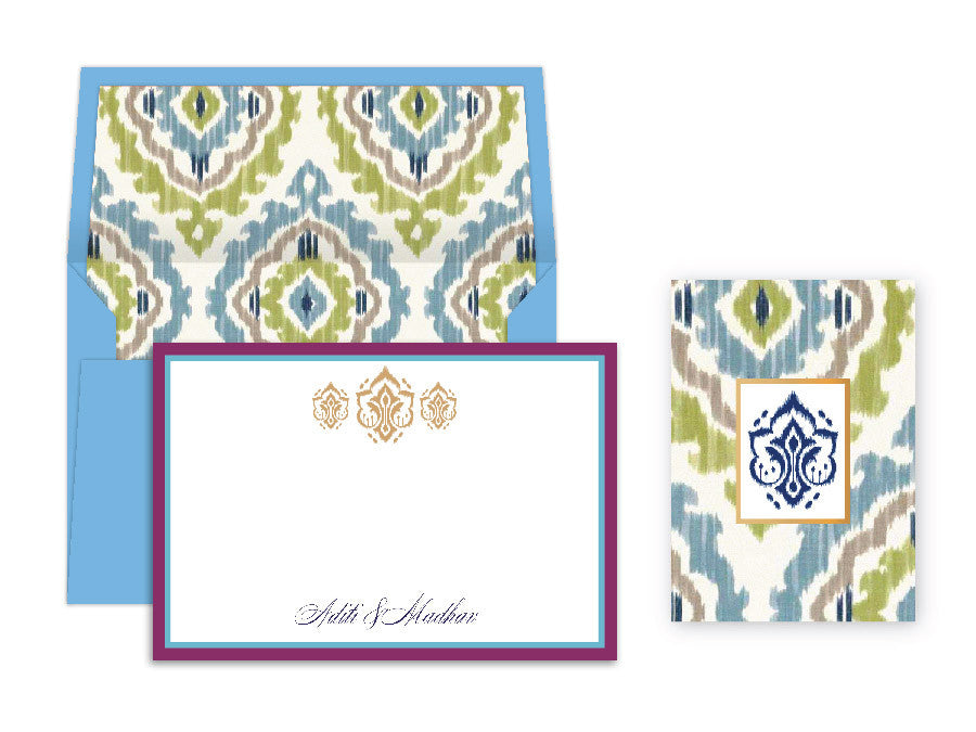 Ikat French Blue Special Edition Box Set