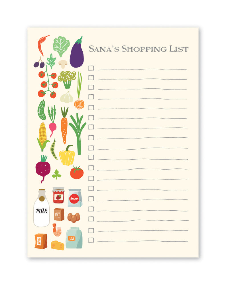 Kitchen list