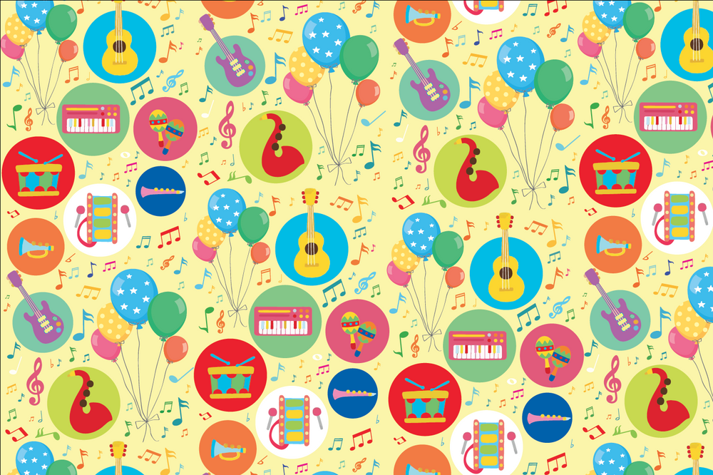 Music Wrapping Sheets