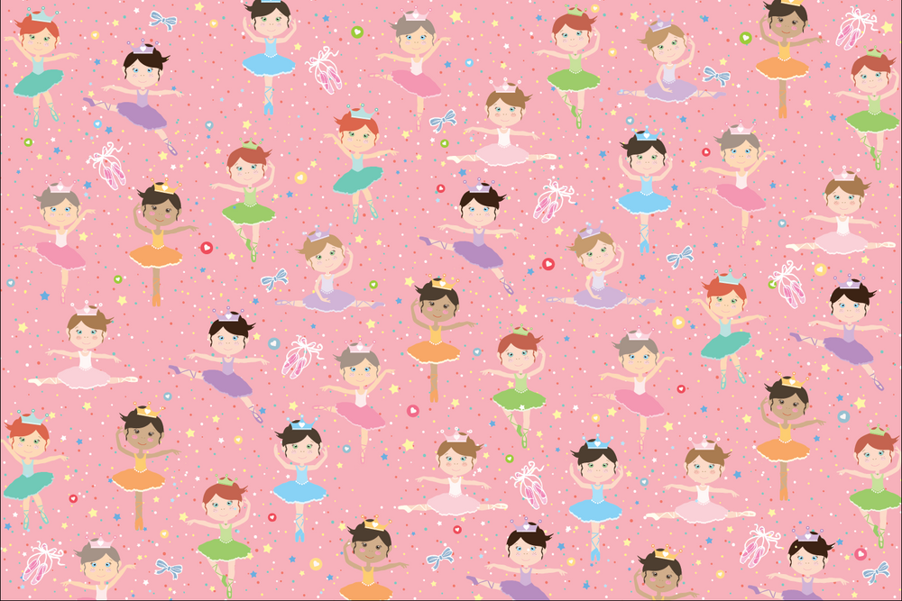 Ballerina Wrapping Sheets