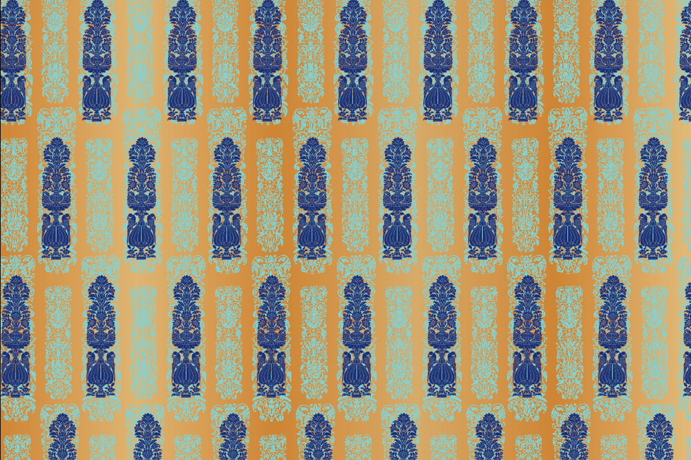 Royal Motif Wrapping Sheets