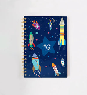 Outer Space Personalised Doodle Book
