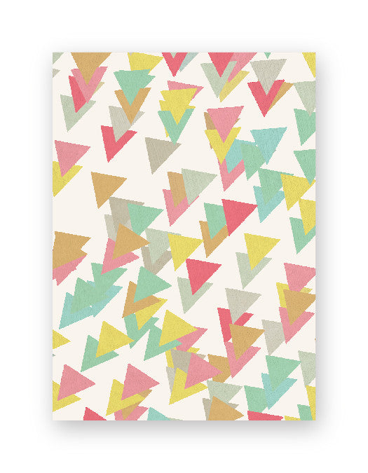 Triangle Box of Gift Tags
