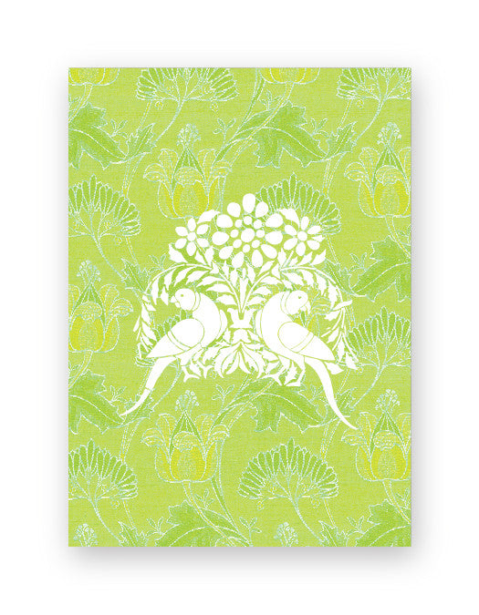 Parakeet Green Box of Gift Tags