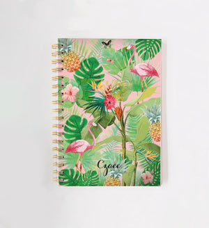 Load image into Gallery viewer, Tropical Personalised Doodle Book