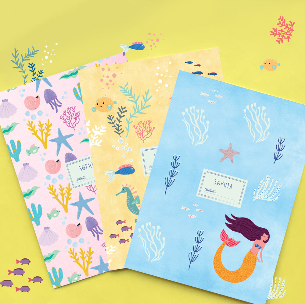 Under The Sea Personalised Folder