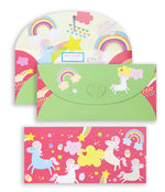 Unicorn 10 Gift Envelopes