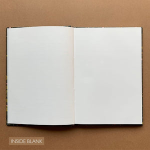 Blank Pages Personalised Journal