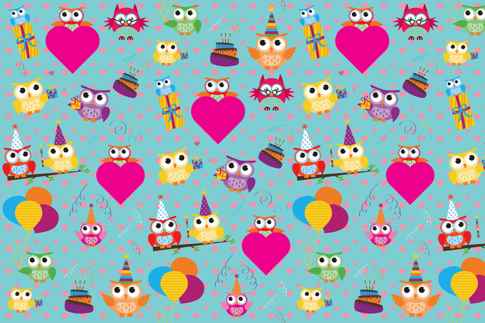 Owl Wrapping Sheets